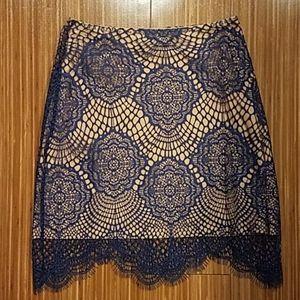 """For Love & Lemons """"Grace"""" lace mini skirt"""